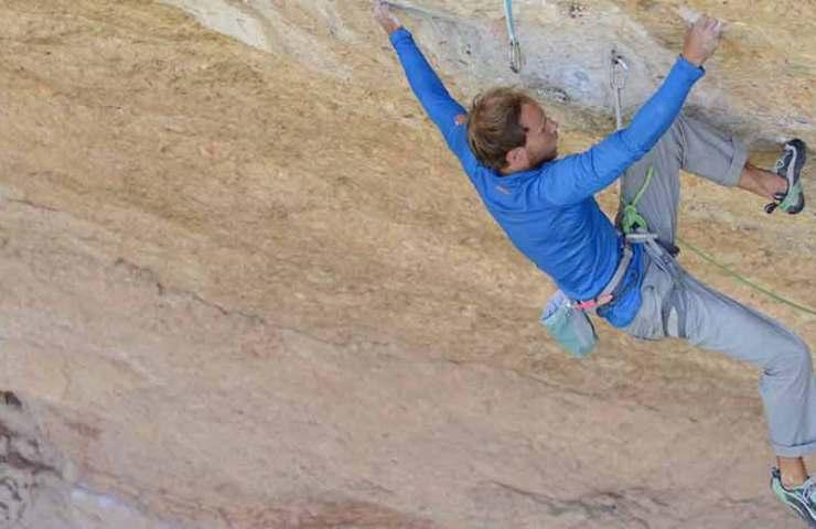 Jonas Schild punktet reihenweise schwere Routen im spanischen Margalef