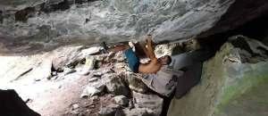 Martin Stranik klettert Underground Paradise im Wallis