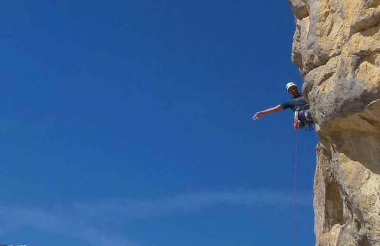 Neue Mehrseillängentour im Klettergebiet Sanetsch: Le Septième Sens