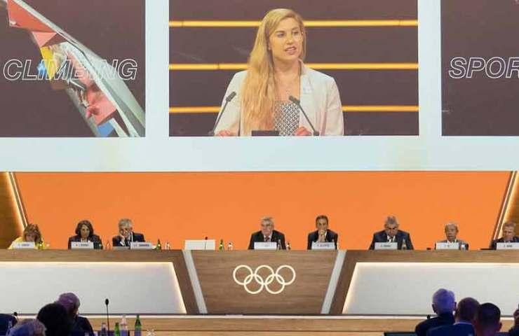 Olympische Spiele Paris 2024: Speedklettern wird vom Bouldern und Leadklettern losgelöst