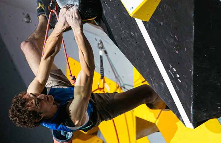 Adam Ondra and Janja Garnbret win the Lead World Championship 2019