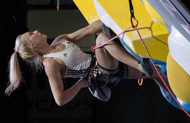 Janja Garnbret und Tomoa Narasaki gewinnen das kombinierte Format der Kletter-WM 2019