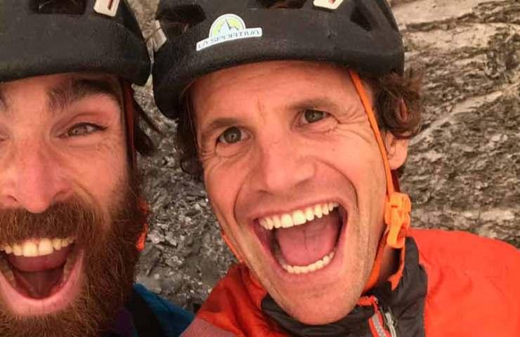 Roger Schäli comete La Vida es Silbar en el Eiger en un día