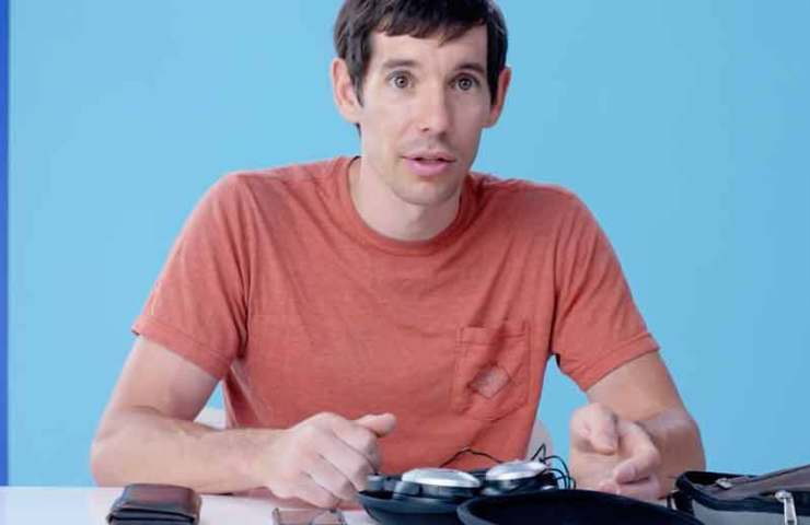 These are the 10 main items in the life of Alex Honnold