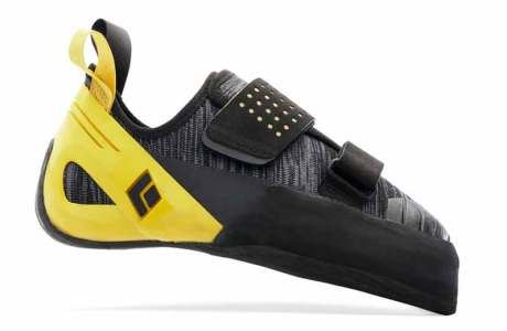 The climbing shoe Black Diamond Zone in the test