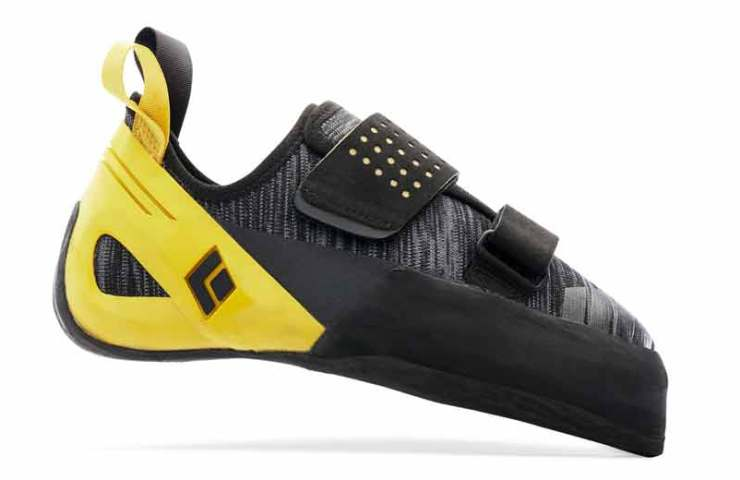The climbing shoe Black Diamond Zone in the test