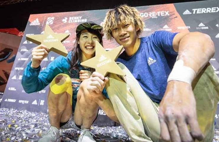 Futaba Ito und Yoshiyuki Ogata sind die adidas Rockstars Champions 2019