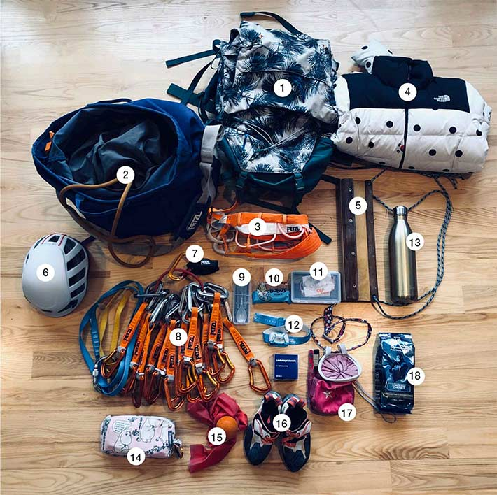 Packing list Margo Hayes