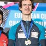 Adam Ondra and Lucka Rakovec win the European Championship in Edinburgh