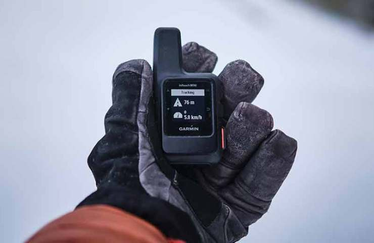Always available: With the inReach Mini satellite communication device from Garmin