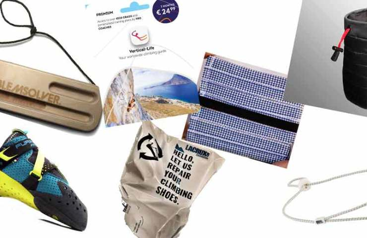 8 gift ideas for climbers and bouldering-