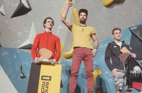 Dieser Tscheche schlägt Adam Ondra beim Bouldern