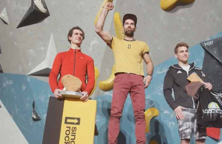 This Czech beats Adam Ondra while bouldering