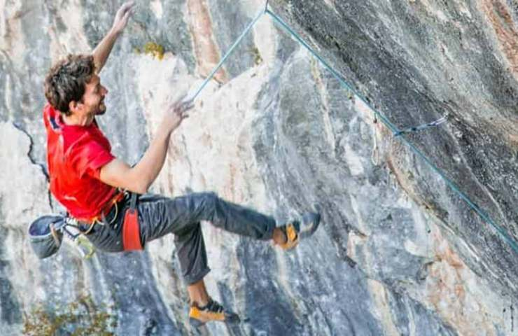 Climbing area Laghel closed: With the dream of the 9c route for Stefano Ghisolfi