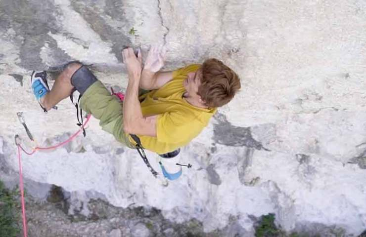 Video of the first ascent of one of the most difficult routes in the world: La Rage d'Adam (9b / +)