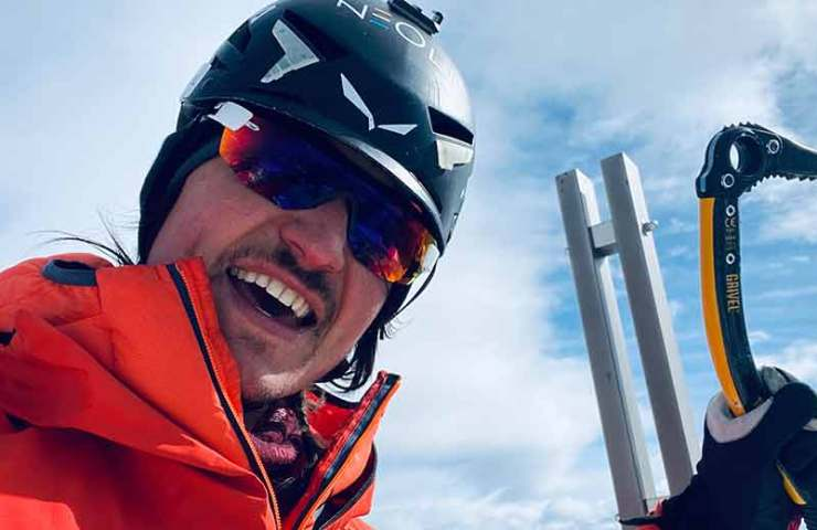 Details on the solo ascent of the Three Peaks by Simon Gietl
