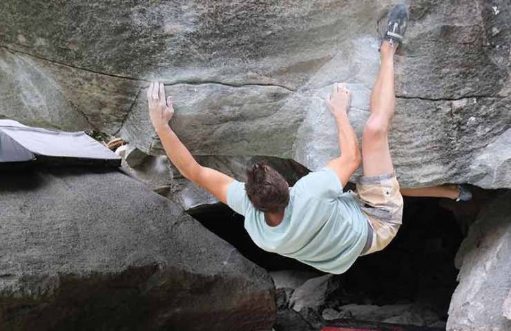 Bouldering area Magic Wood open again with reservations