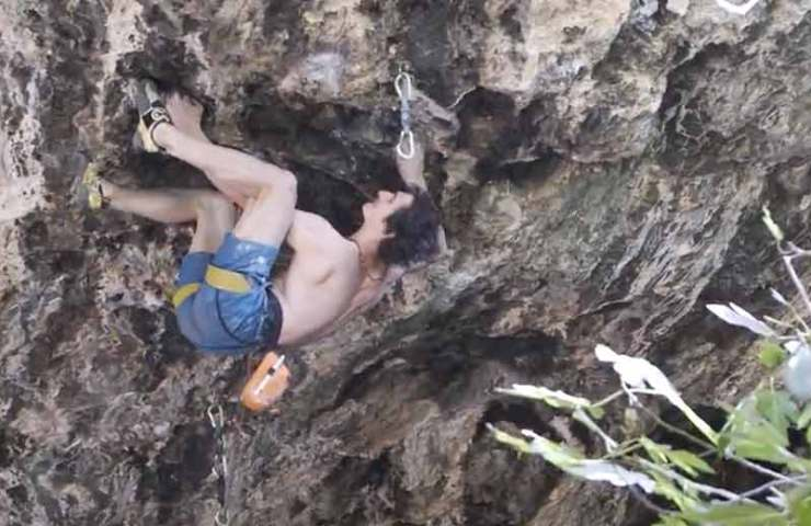 New video recordings of Adam Ondra's Israel trip online