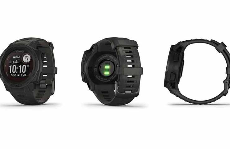 GPS watch with solar energy: The Garmin Instinct Solar