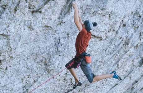 Sébastien Bouin: First ascent of Beyond Integral (9b / +)