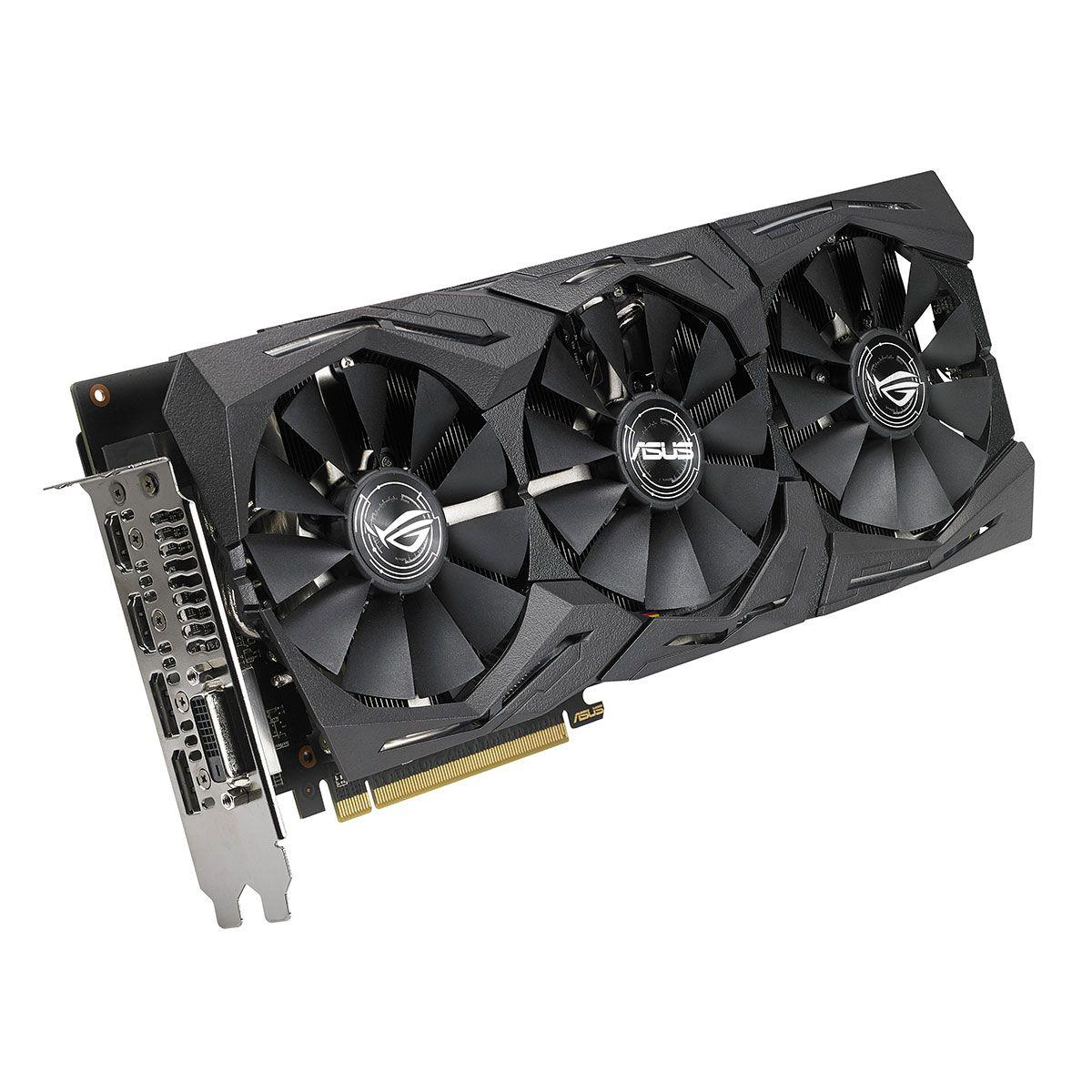 Asus ROG-STRIX-RX580-O8G-GAMING Carte graphique AMD Radeon RX 580 HDMI