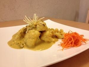 Cavolfiore al curry