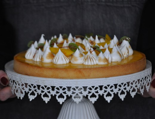 Mango Meringue Pie