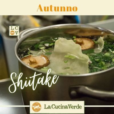 Ricetta con i funghi Shiitake
