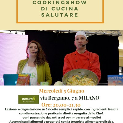 CookingShow in negozi bio