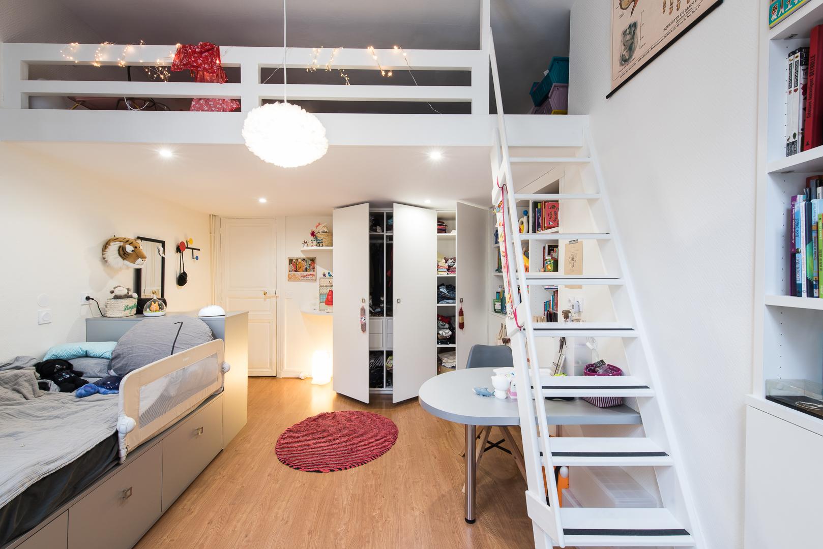 chambre d enfant avec mezzanine sk