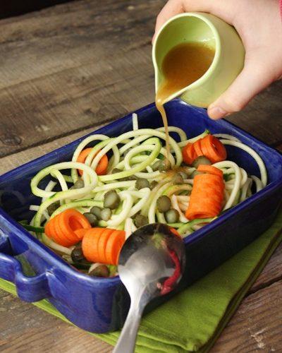 j ai teste pour vous l accessoire a spaghettis de legumes kitchenaid recette salade de
