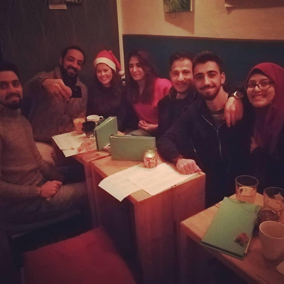 Interkulturelle Weihnachtsfeier in der STERNSTUNDE