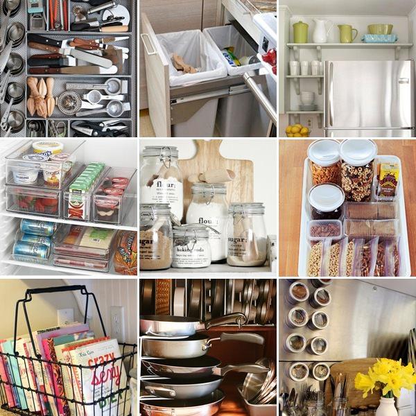 Organizzare lo spazio in cucina la cuoca provetta - Organizzare la cucina ...