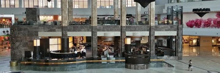 Italian restaurant Palas Mall Atrium