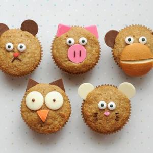 animal muffins breakfast
