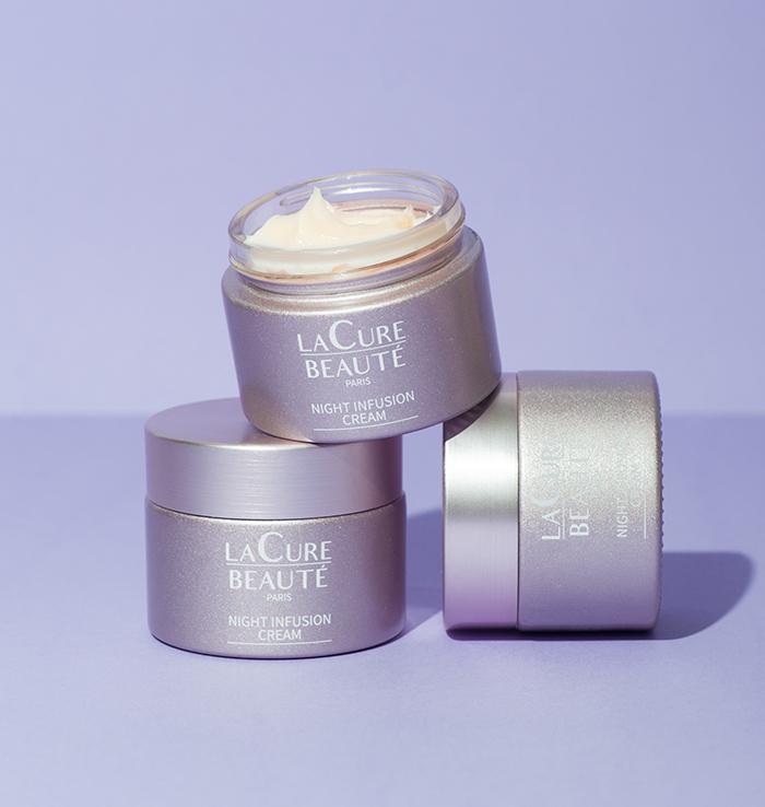 Crème de Nuit Anti-Âge - La Cure Beauté