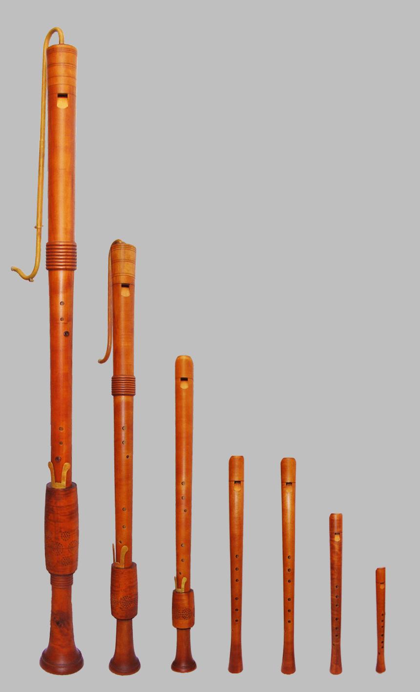 Família de flautes renaixentistes