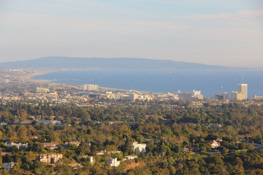 View of Santa Monica Bay