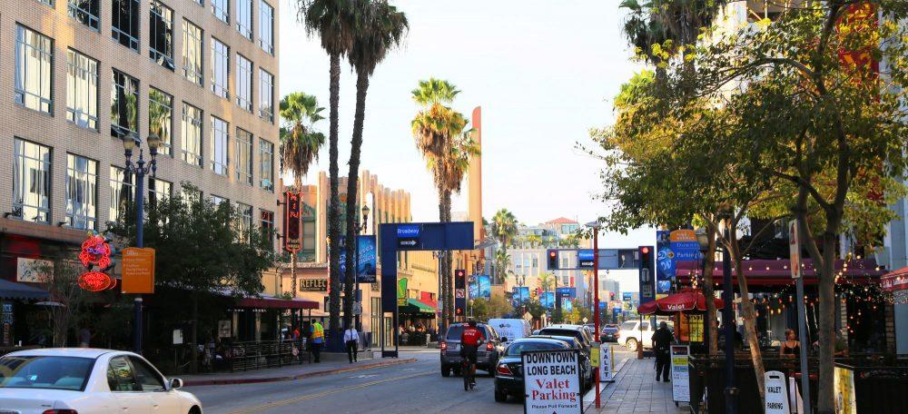 Pine Avenue in Long Beach