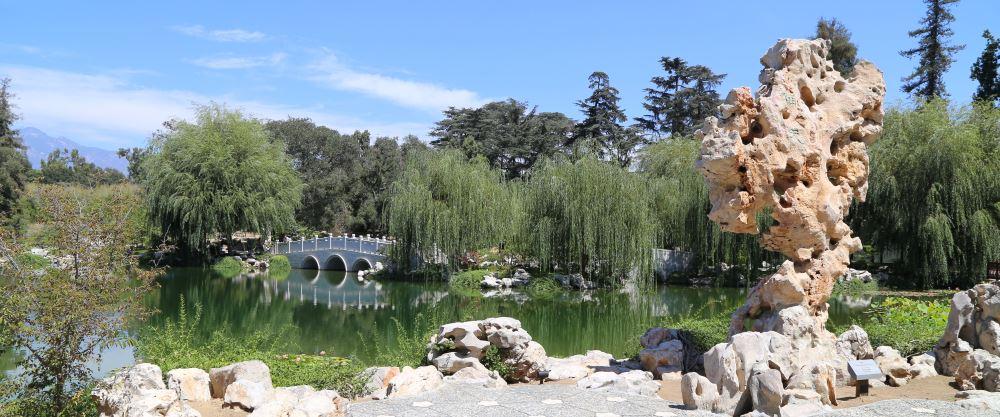 Huntington Chinese gardens