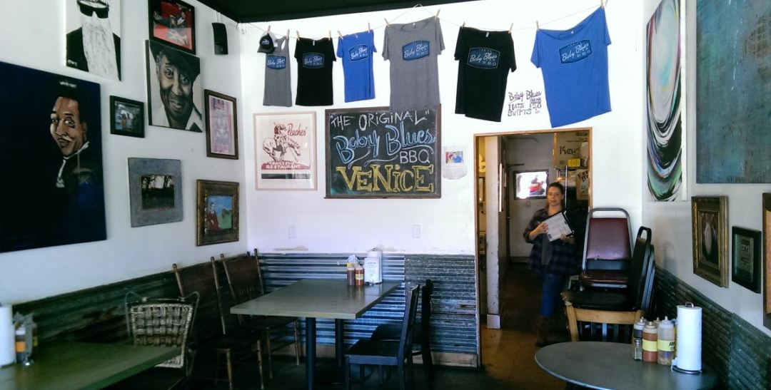 Baby Blues BBQ interior