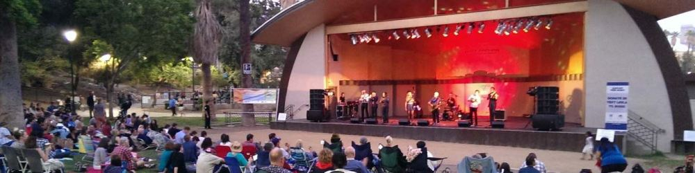 Free concert at MacArthur Park