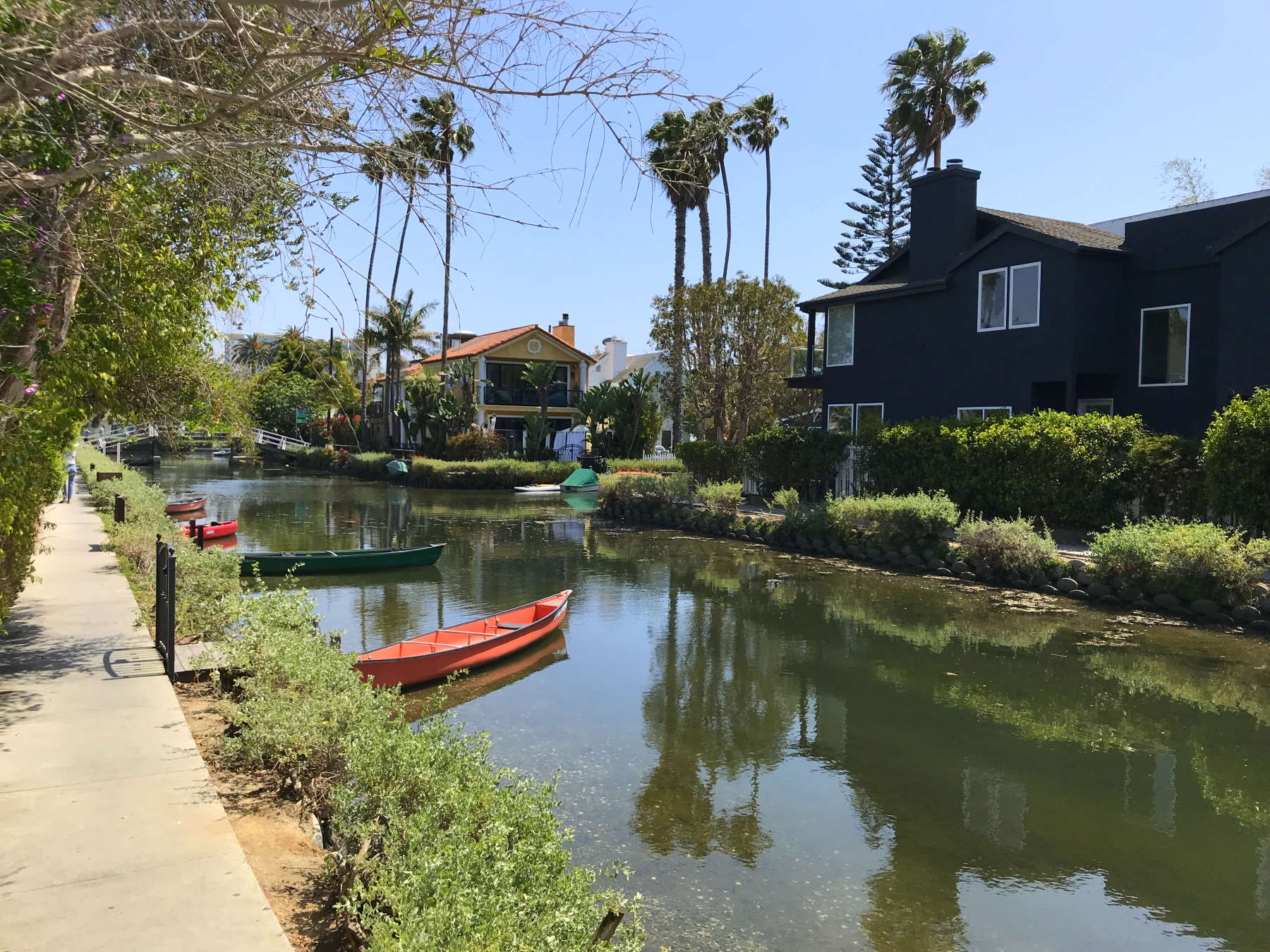 Venice canals during the day