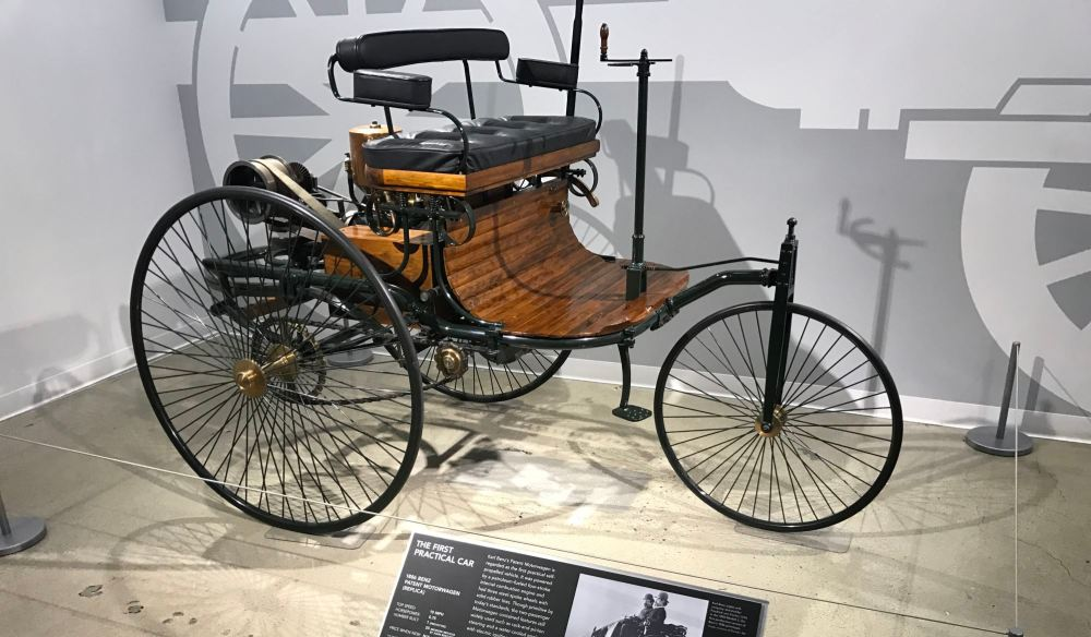 """First Practical Car"" at Petersen Automotive Museum"