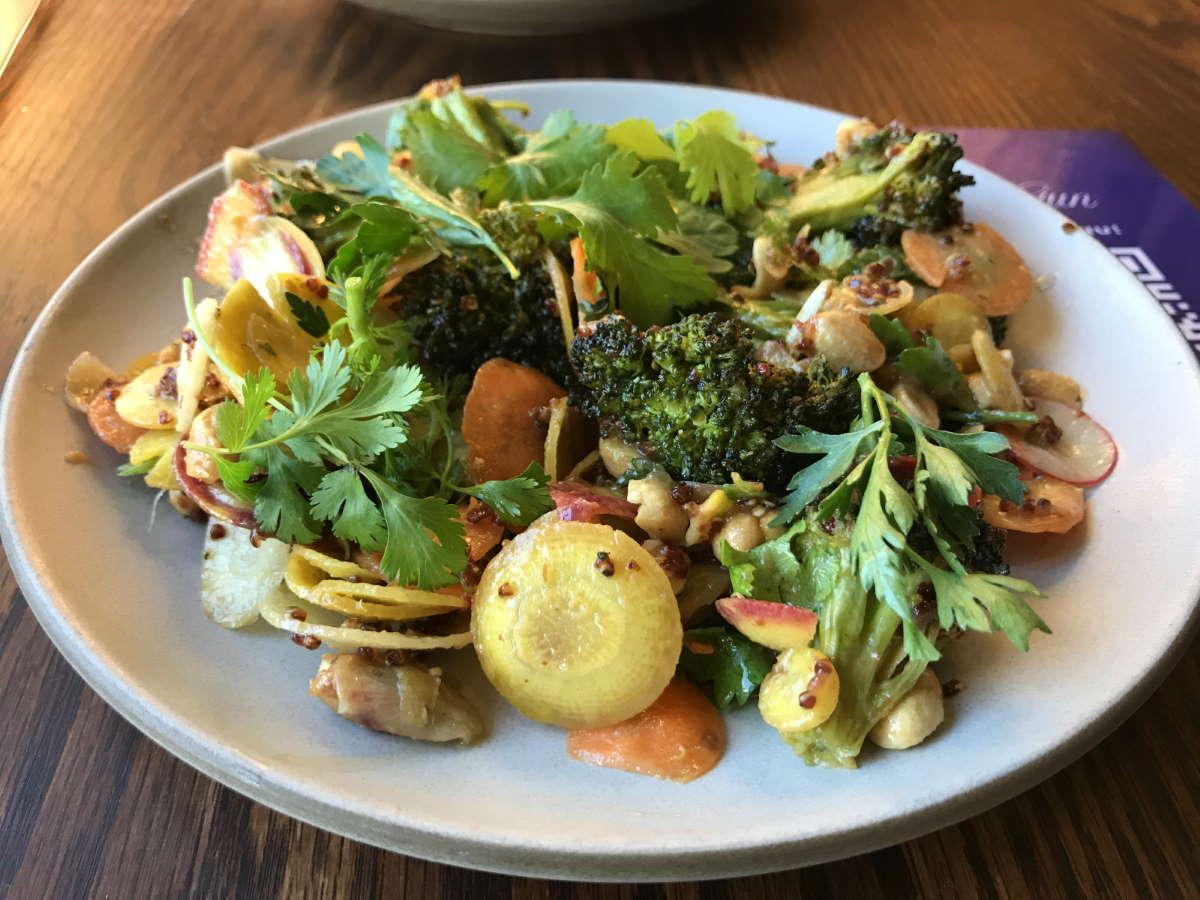 Roasted Broccoli Salad at Son of a Gun
