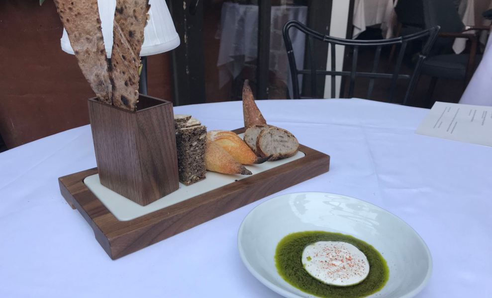 The bread at Spago
