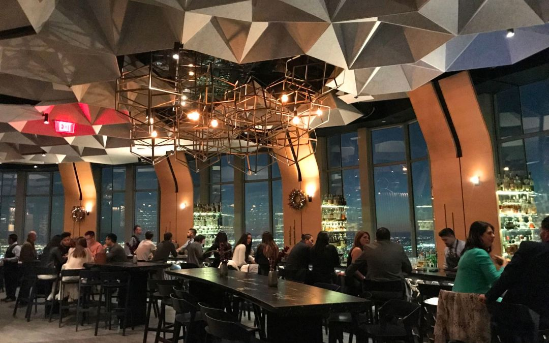 The Most Romantic Restaurant in Downtown Los Angeles: 71 Above