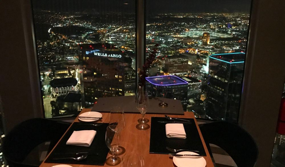 Table view at 71 Above