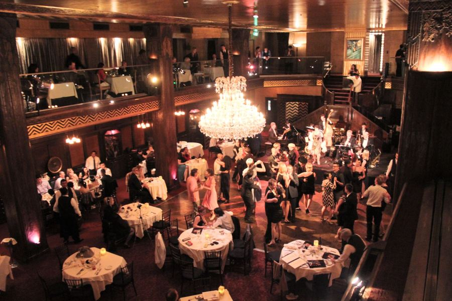 Dinner and dancing at the Cicada Club
