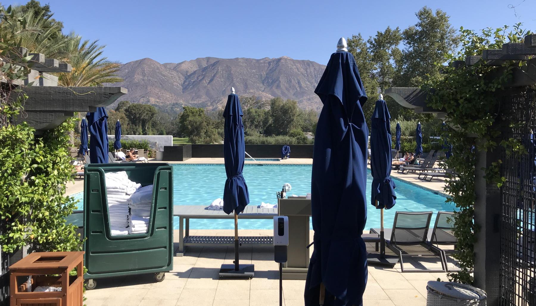The Indigo Pool at the Ojai Valley Inn